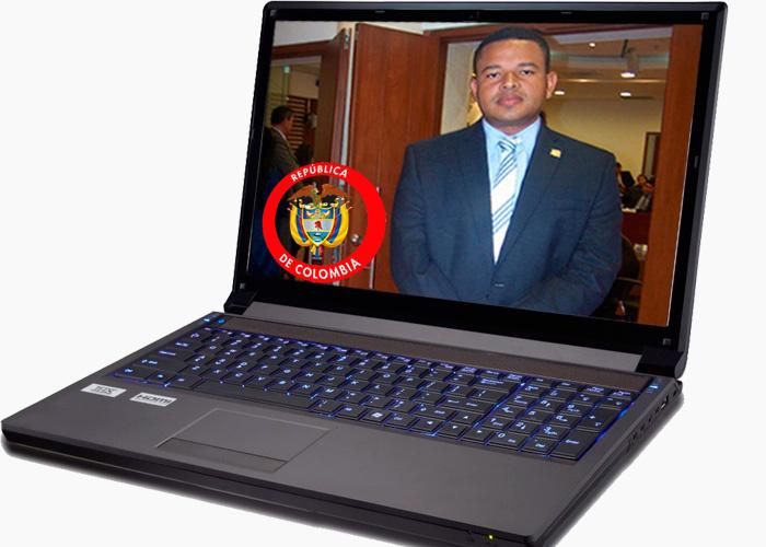 Yahir Acuña, el investigador que terminará investigado por él mismo. Estos son los contratos que aparecen a su nombre en el 'Computador de Palacio'