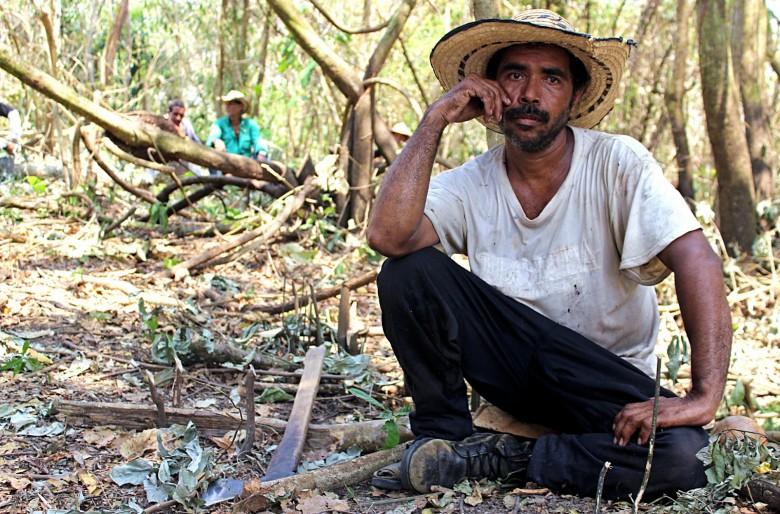 Campesinos de Las Pavas le escriben a Santos