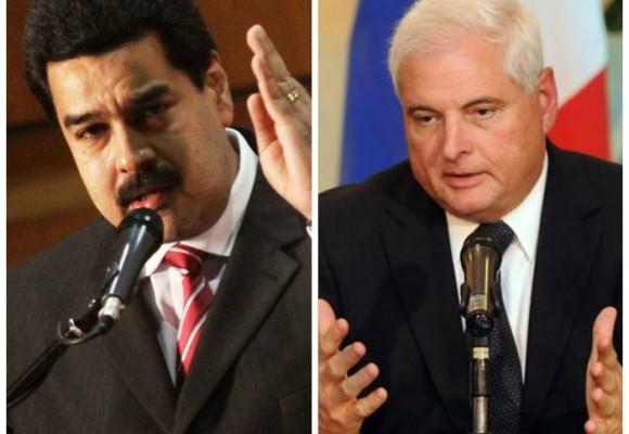 """Maduro rompió relaciones con Panamá por """"conspiración"""" desde Estados Unidos"""