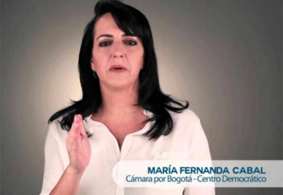 Respuesta en 5 puntos a María Fernanda Cabal