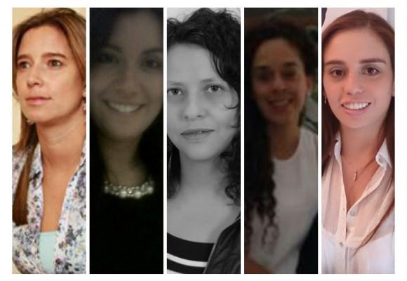 Las cinco mujeres detrás de los candidatos presidenciales