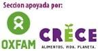 Sección apoyada por Oxfam | CRECE