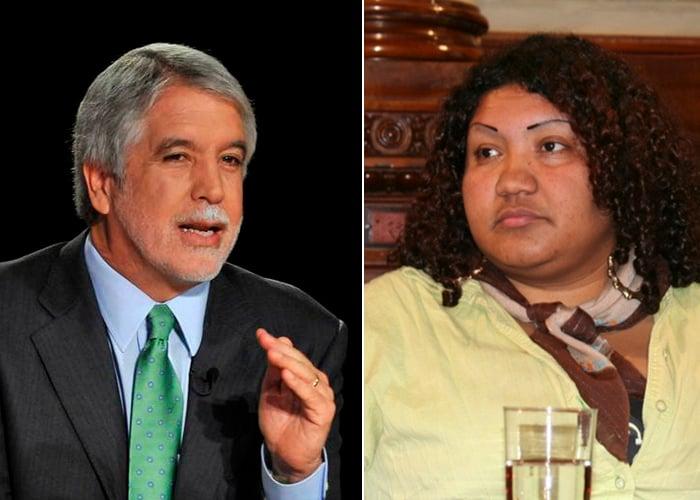 Líder negra le canta la tabla a Enrique Peñalosa