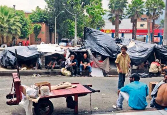 Volvieron los gamines a Medellín