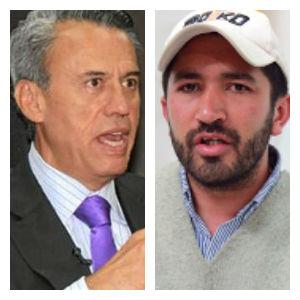 El ministro Lizarralde recibe a César Pachón, el líder de las Dignidades, en su despacho