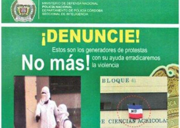 Paramilitares amenazan la U. de Córdoba