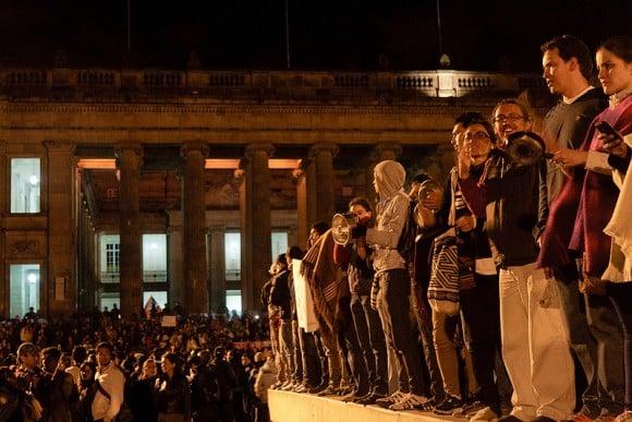 Los campesinos lograron la solidaridad del país urbano y el gobierno reaccionó con promesas que según ellos no ha cumplido. Foto: CC Flickr Carlos Caicedo flickr.com/photos/carloscaicedo