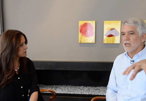 """""""Por supuesto que respetaremos lo que se negocie en La Habana"""": Enrique Peñalosa"""