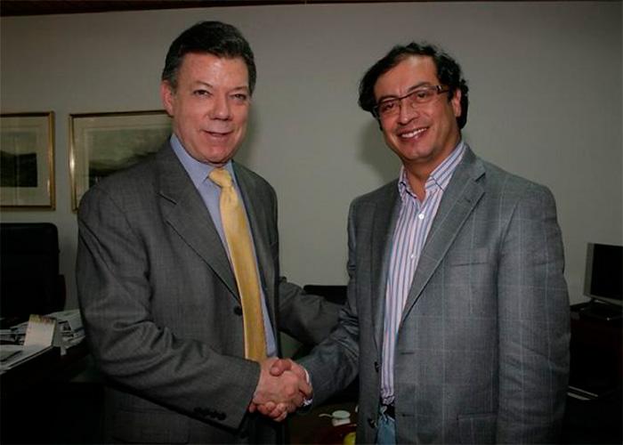 ¿Petro y Santos juntos? Cuestión de memoria colectiva