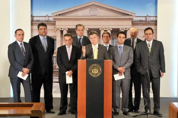 En la Unidad Nacional conocido como el partido de La U, es la agrupación de fuerzas en las que reside el poder electoral de Santos