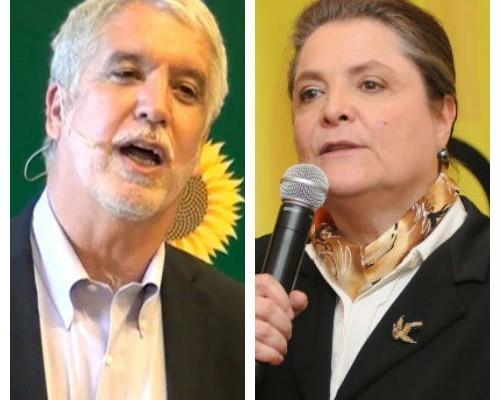 El debate presidencial se volvió un cara a cara entre los dos exalcaldes de Bogotá