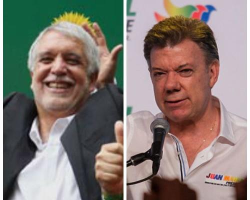 Progresistas se dividen entre Santos y Peñalosa