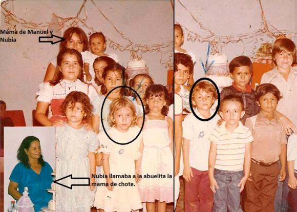 Estas dos fotos de Nubia Isabel y Manuel Jesús son los únicos recuerdos que le quedaron a Gladys Primo de sus hijos.