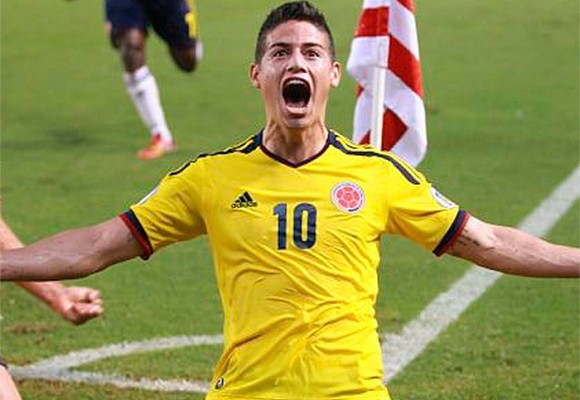 James Rodríguez goleador y la Selección Colombia premiada por el juego limpio