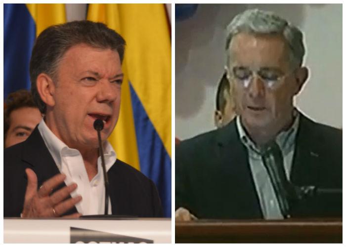Uribe y Santos: los antagonistas