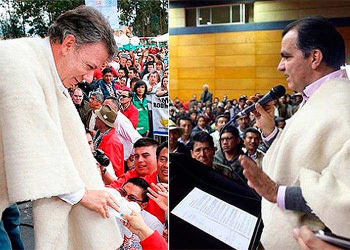 Las propuestas de Santos y Zuluaga para el campo