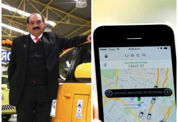 La guerra entre los taxis Unos de Uldarico Peña y los Uber