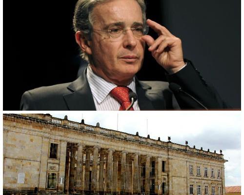 ¿Cuál va a ser la oficina de Uribe en el capitolio?
