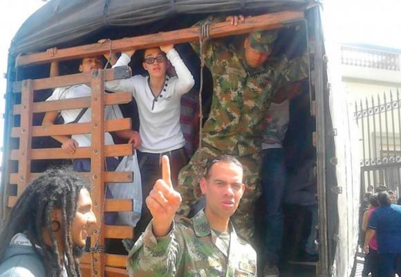 Siguen las batidas del Ejército en Bogotá
