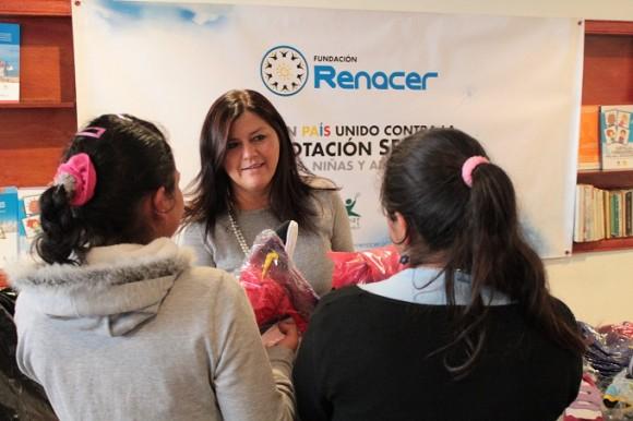 Luz Estella Cárdenas, es la directora de la Fundación Renacer
