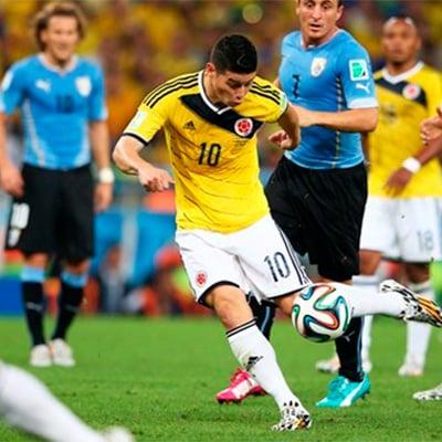 James Rodríguez se alza con el mejor gol del mundial Brasil 2014