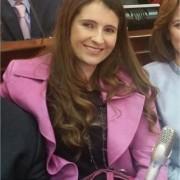 Paloma Valencia se queja de  su nueva oficina en el Congreso