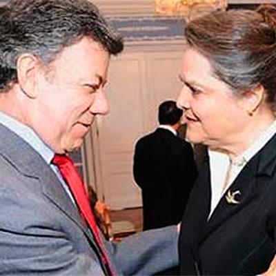 Duro jalón de orejas de Clara López y el Polo a Santos por Palestina