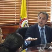 Rodríguez  Zapatero pronostica que habrá paz en Colombia