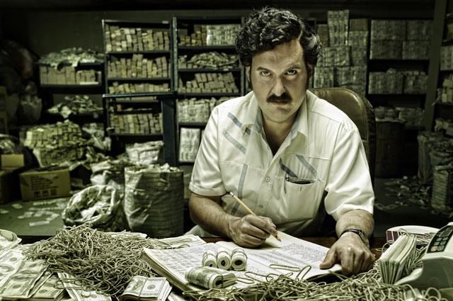 El actor Andrés Parra ha logrado una de las caracterizaciones más fidedignas en la serie Escobar: el patrón del mal