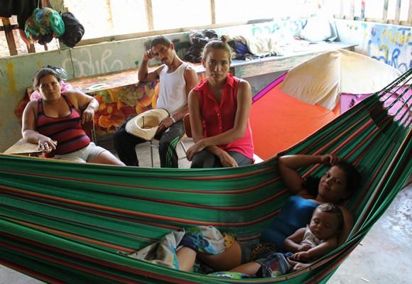 Cinco días en el refugio humanitario de Hacarí