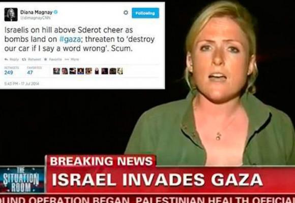El lobby de Israel en los medios gringos