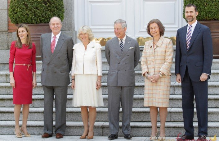 Las inútiles visitas de la monarquía Europea