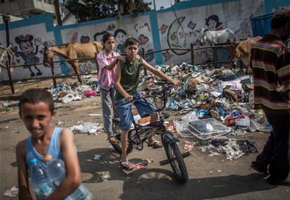 """""""No hay escuela, ya no quedan niños en Gaza"""""""