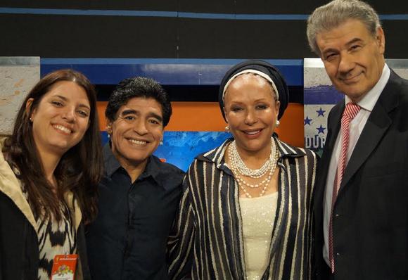 Maradona estará en Colombia