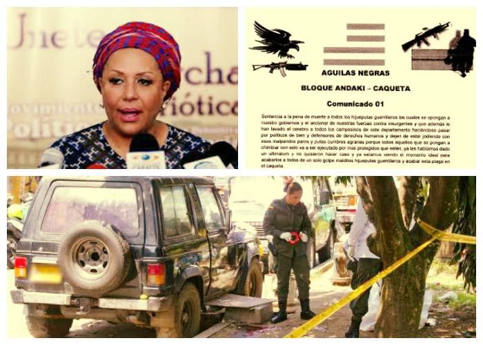 El peligro inminente en el que están los dirigentes de Marcha Patriótica en el Caquetá