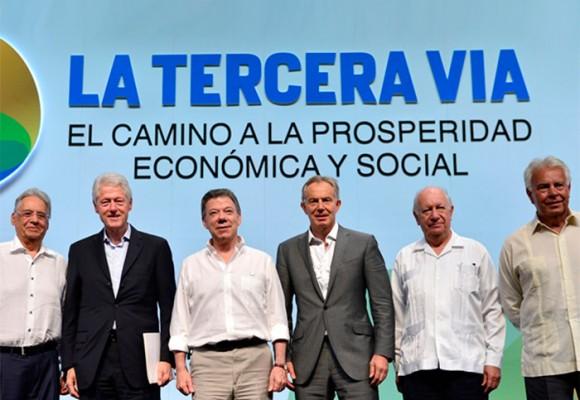 El espaldarazo de 5 expresidentes a la paz