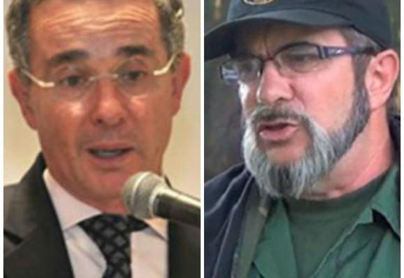 Plantón uribista en el Senado por el mensaje de las Farc y el ELN