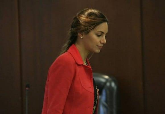 La exreina tuvo que acudir a muchas audiencias judiciales para defender su inocencia