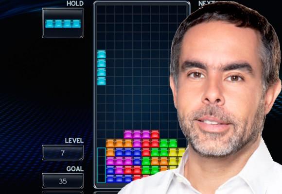 A Benedetti le pagamos millones por jugar Tetris