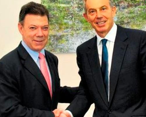 Los costosos consejos de Tony Blair a Colombia y otros negocios
