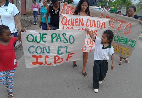 ¿ Qué  pasó con el I.C.B.F en Puerto Wilches?