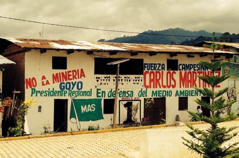 Rechazo a la minería en el Perú