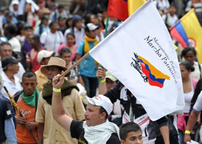 Marcha Patriótica en la lupa de las FARC