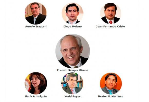 El poder de Samper en el gobierno Santos