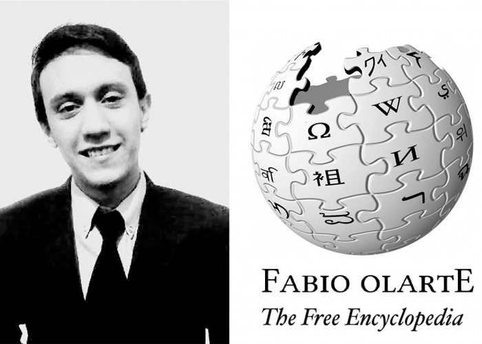 Fabio Andrés Olarte, el Wikipedio colombiano