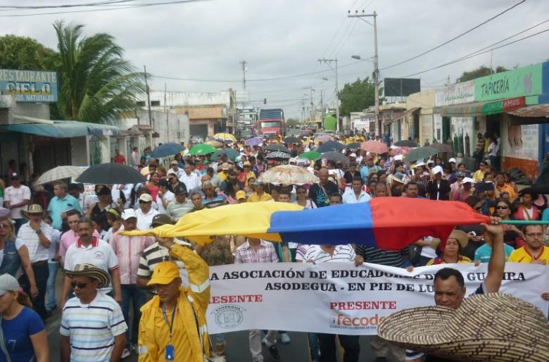 El pueblo guajiro no se rinde, se moviliza y reclama