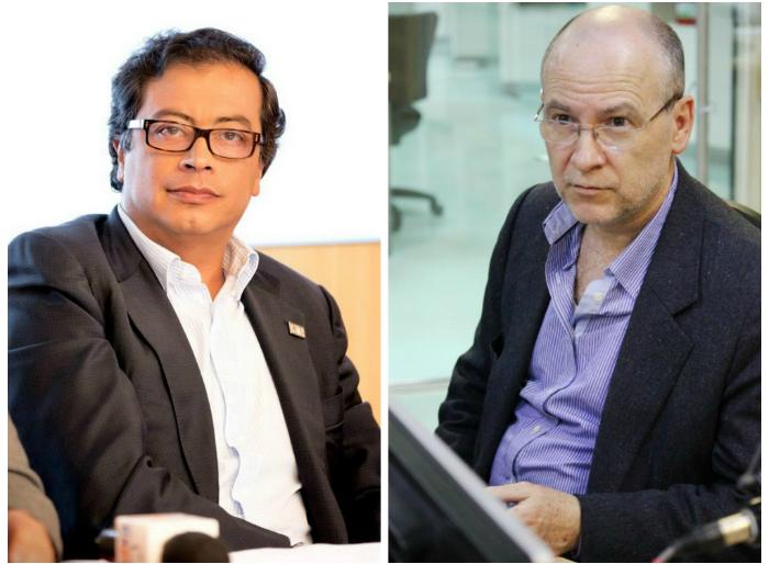 Carlos Vicente De Roux y Gustavo Petro: la pelea de dos viejos aliados