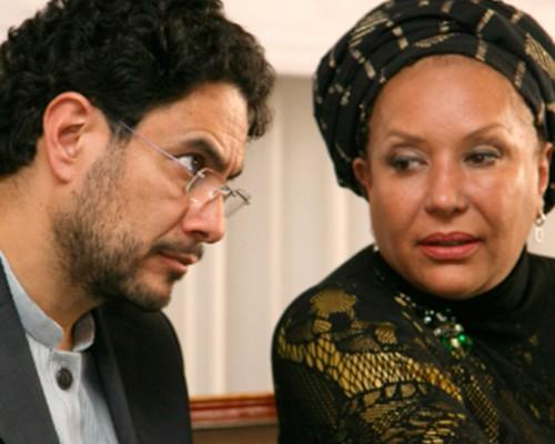 Iván Cepeda y Piedad Córdoba en el Encuentro de zonas de reserva campesinas. No llegó el gobierno