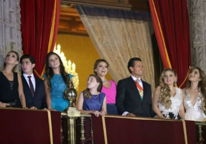 Los atuendos de la primera dama de México