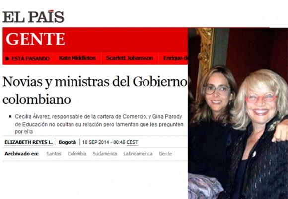 La relación entre Gina Parody y Cecilia Álvarez trascendió fronteras